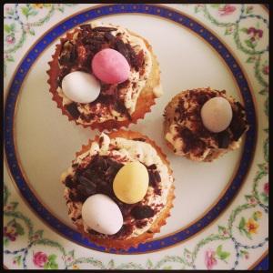 Pâques 2013 cupcakes