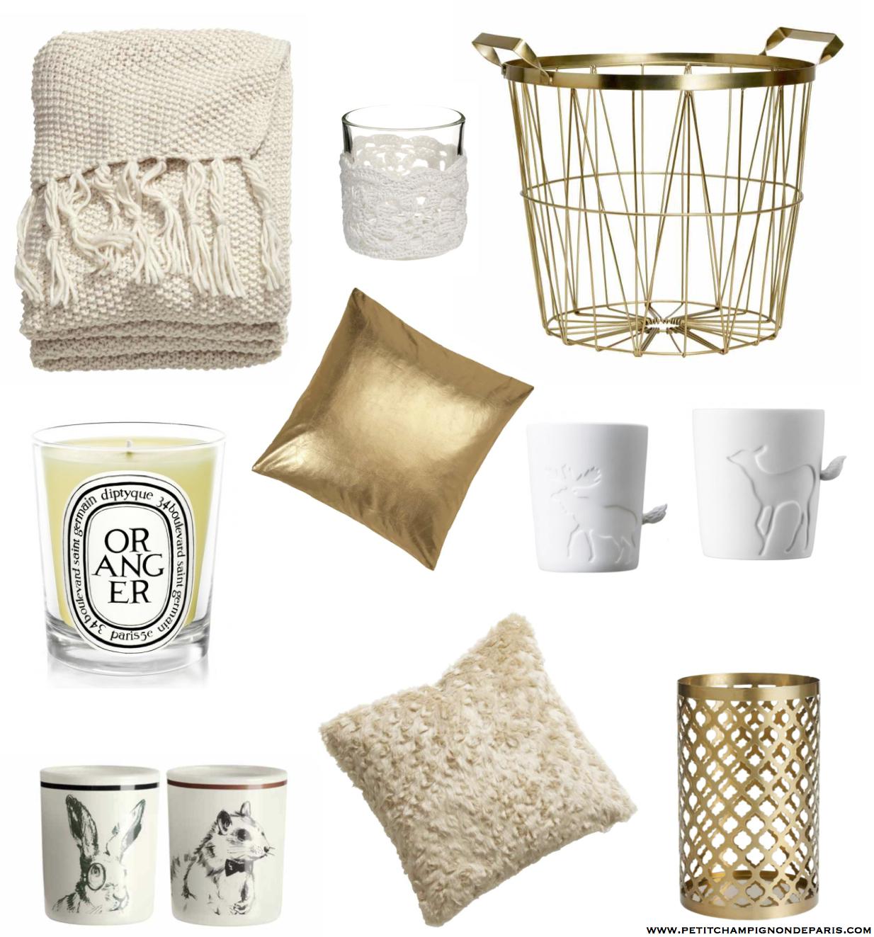 selection cocooning h m home petit champignon de paris. Black Bedroom Furniture Sets. Home Design Ideas